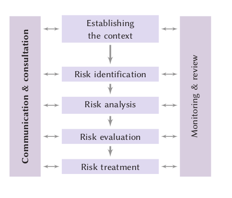The ISO 31000 risk management process