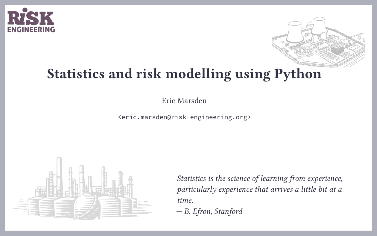 Statistical modelling: Introduction to probabilistic and statistical